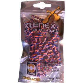 XTENEX Sport Laces 75cm Orange/Blå